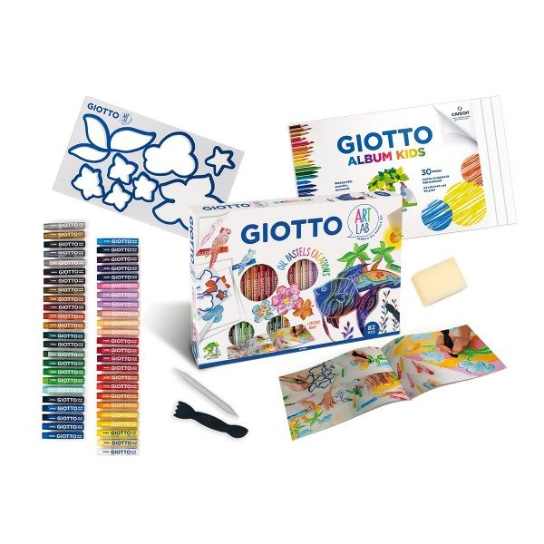 Giotto Art Lab – Oil Pastel Creations