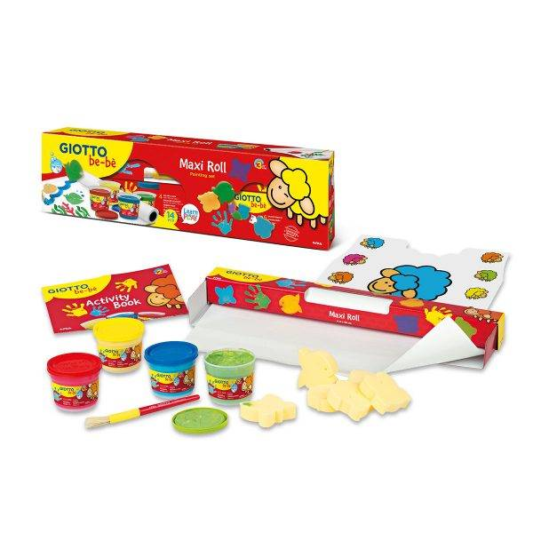 Giotto be-bè Maxi Roll Painting Set