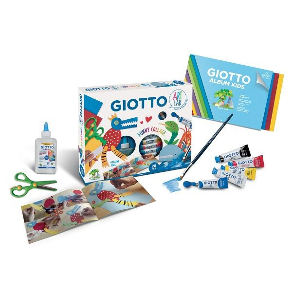 Giotto Art Lab – Funny Collage