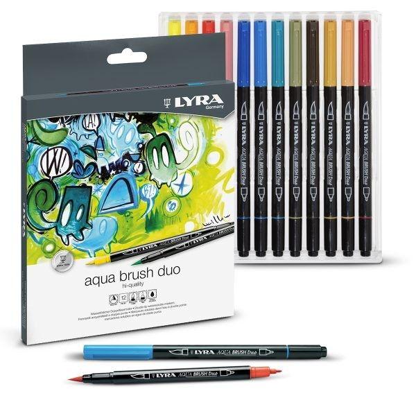 Lyra Aqua Brush Duo Set