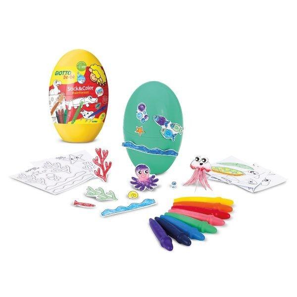 GIOTTO be-bè Stick&Color Egg
