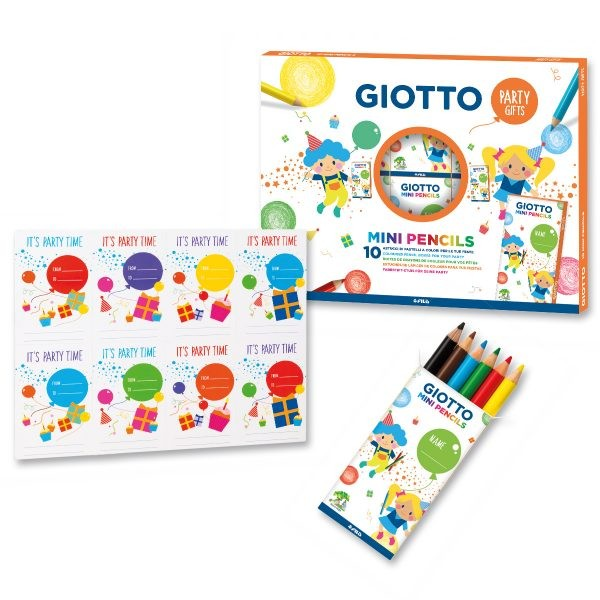 Giotto Party Gifts Mini Pencils