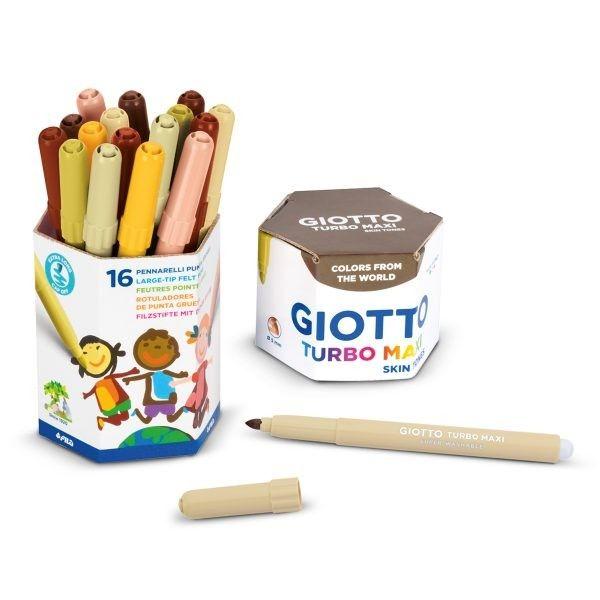 GIOTTO Turbo Maxi Skin Tones – Per la classe