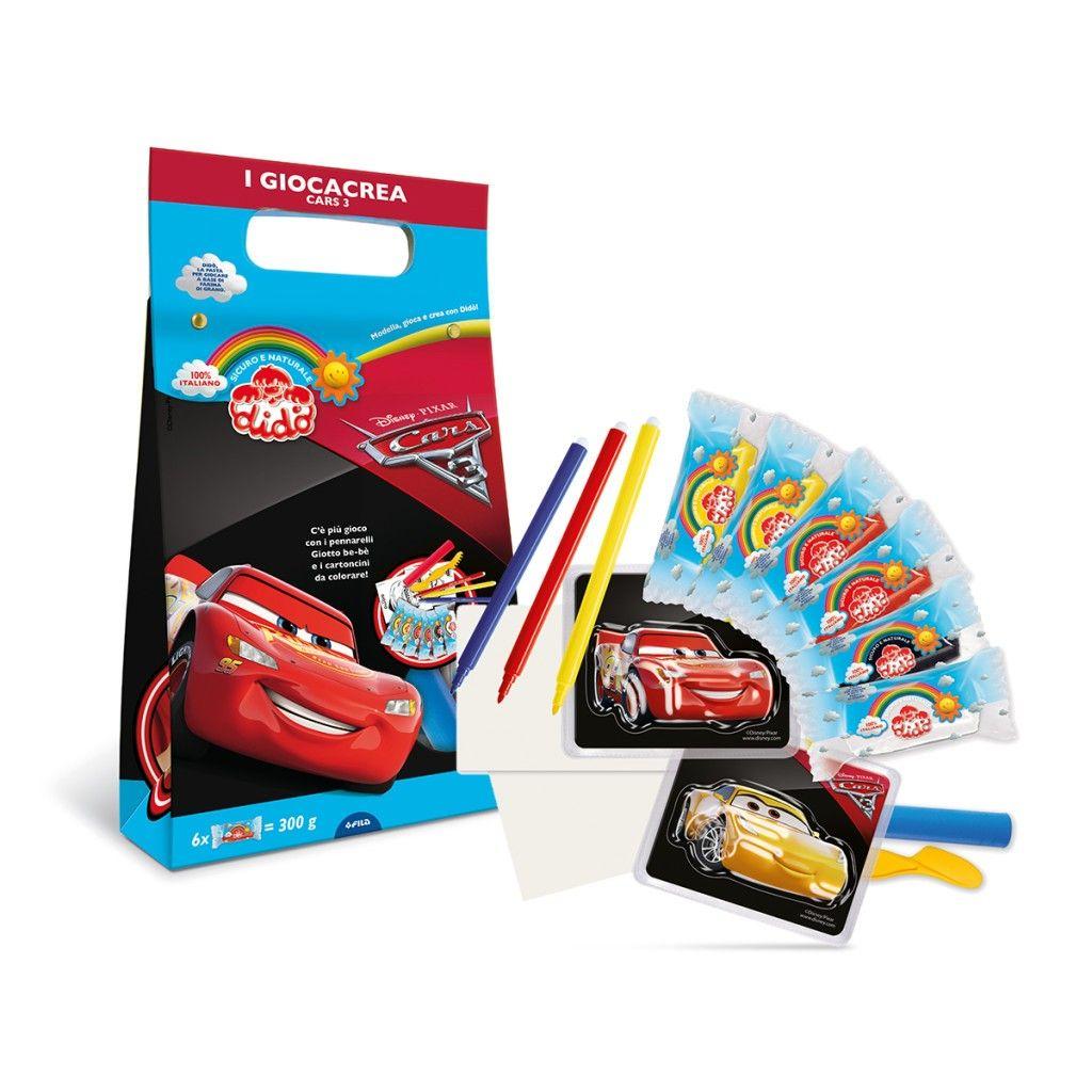 Didò Giocacrea Cars 3 Fila Italia New