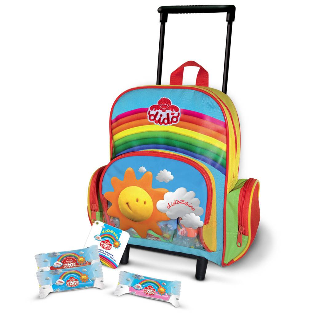 6ef979ab21 Didò Backpack Trolley - Fila Italia New