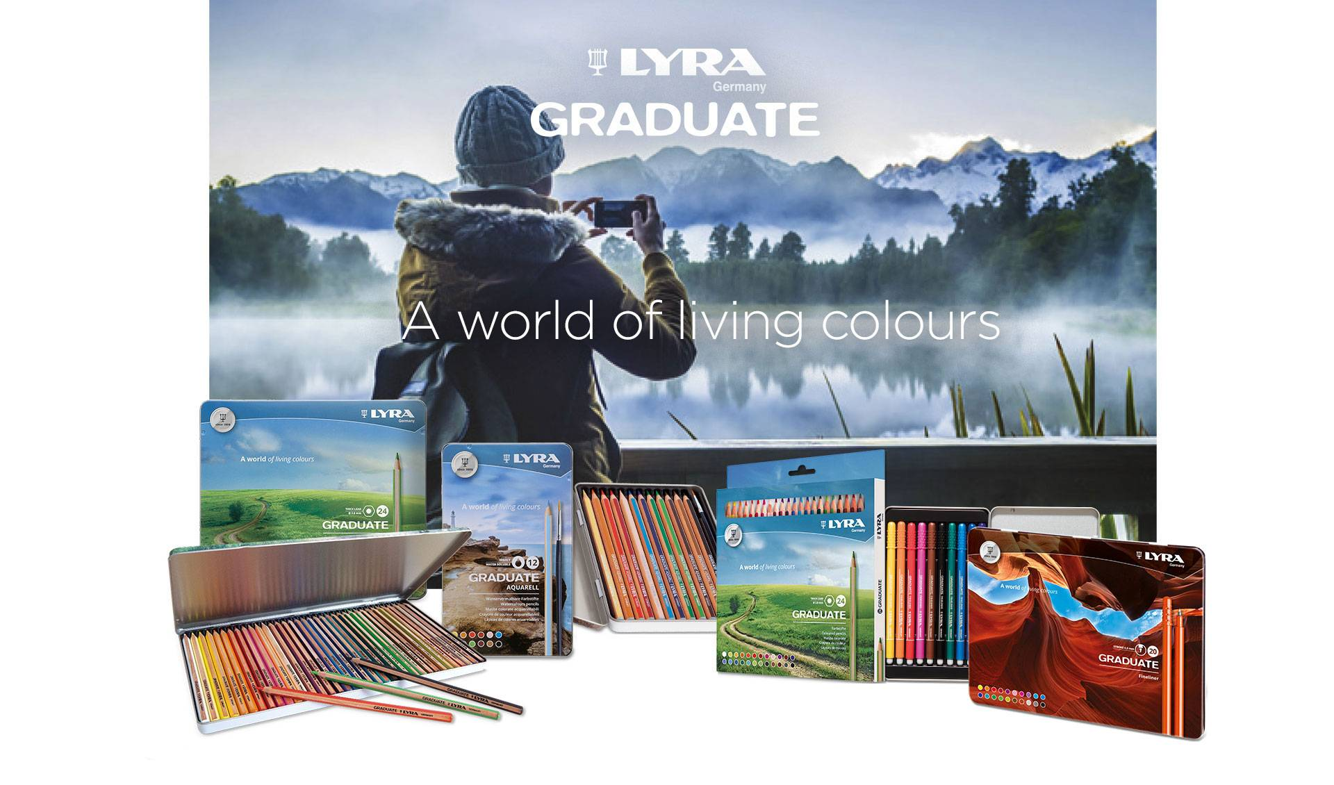 Lyra Graduate - A world of living colours